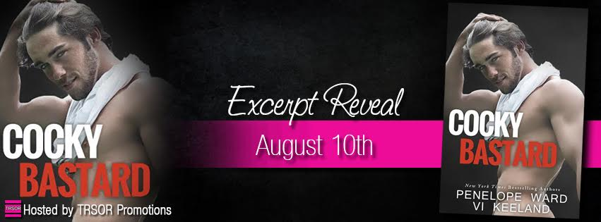 cocky bastard excerpt reveal